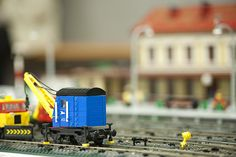 https://flic.kr/p/dg487J | Rail maintenance stuff | With a main building in the background