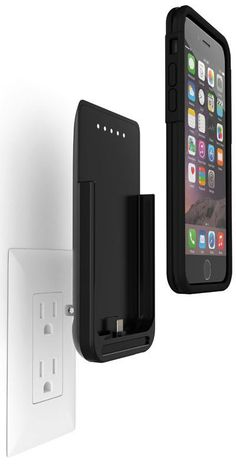 This is the iPhone 5/5s case that has a folding built-in plug for convenient charging without a cord. Ideal for frequent travelers or those prone to misplacing cables,