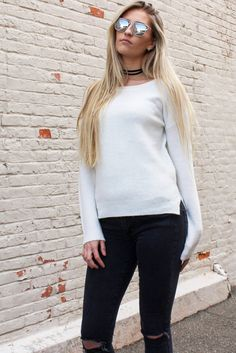 Alexxa Sweater - Cream #affordable #affordable-quality-clothing #affordable-quality-fashion