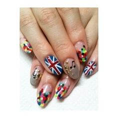Super-Fun Nail Art Ideas 2012 - Experience the thrill of sporting some of these super-fun nail art ideas Give your nails a touch of glamor with vibrant shades and ultra-popular prints. Pretty Girl Rock, Britpop, Fancy Nails, Cool Nail Art, Manicure And Pedicure, Beauty Nails, You Nailed It, Nail Colors, Nail Designs