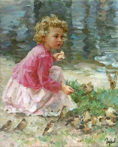 Painting by Vladimir Gusev