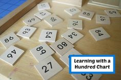 This post has so many ways to use a hundreds chart or hundreds board and the reasons why early number sense is so important
