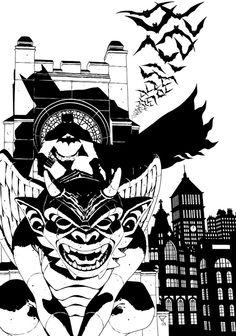 batman_on_gargoyle_by_portela-d8ctdq4