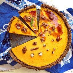 Dýňový koláč s podzimním kořením