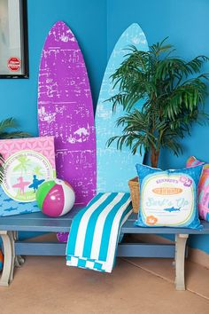 Girly Surfing Party from Kara's Party Ideas. See more at karaspartyideas.com!