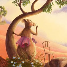 """Mother Kangaroo calling for her Joey in """"Where's my Joey?"""" picture book, written by Wendy Monica Winter and illustrated by Roxana Antochi Kangaroo, Book, Winter, Baby Bjorn, Winter Time, Books, Libros, Book Illustrations, Libri"""
