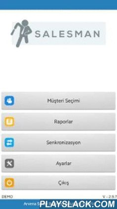 Arvena Salesman  Android App - playslack.com ,  Arvena Salesman , soğuk ve sıcak satış için hazırlanmış mobil satış yazılımıdır.Satış temsilcinizin siparişlerini ve satışlarını takip edebildiğiniz gibi satış temsilcileri müşteri teması sonucu sahada anında müşteriye teklif gönderebilmektedir.Taşınabilir yazıcılardan fiş ya da raporlarınızı alabilirsiniz.Depo ya da satış merkezlerinde ise sabit yazıcılarla çalışabilmektedir.Arvena Salesman offline ve online çalışabilme şirket içi (yerel ağ)…