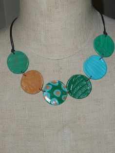 polymer clay necklaces