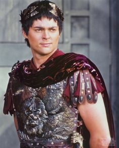 Damn it Jim I'm a doctor not an Emperor.  Karl Urban as Caesar on Xena. haha! karl!