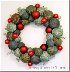 Love the reed with this wreath