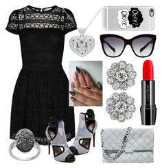 """""""style 2278"""" by bellaannabella ❤ liked on Polyvore featuring RED Valentino, Steve Madden, STELLA McCARTNEY, Lancôme, Casetify and Dolce&Gabbana"""
