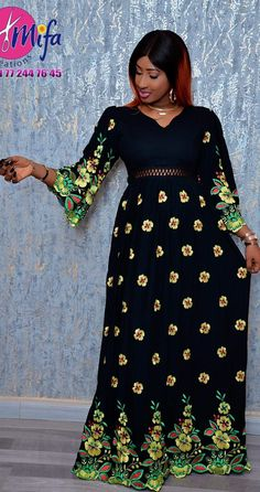 African Maxi Dresses, African Wedding Dress, African Attire, African Wear, African Lace Styles, African Blouses, Africa Dress, African Traditional Dresses, Lace Dress With Sleeves