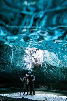 Stunning Photos of a Marriage Proposal in an Icelandic Ice Cave - My Modern Metropolis