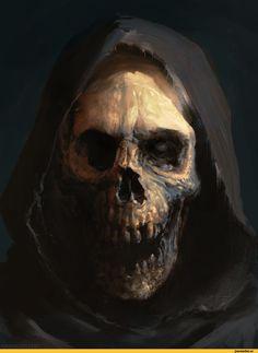 """To Live For My Death"": The Deadliest, Badass & Nightmare Creatures Of Antonio José Manzanedo Creepy Horror, Creepy Art, Creepy Stuff, Arte Horror, Horror Art, Dark Fantasy Art, Dark Art, Illustration Fantasy, Skull Art"