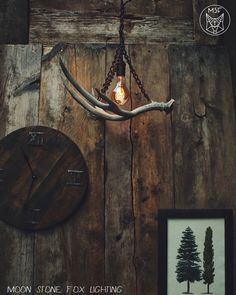Antler Chandelier  Antler Pendant Light  Chain by MoonStoneFox