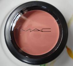 MAC Melba Blush all matte rosey peach looks good on everyone- Jaclyn hills top fab blush