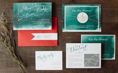 Watercolor Wedding Invitations // by The Nouveau Romantics armadaistanbulweddings.com armadaistanbuldugunleri.com