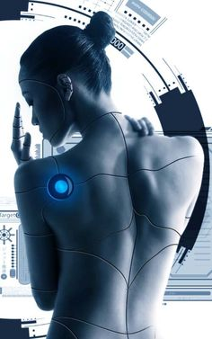Cyborg, Futuristic Girl, Cyberpunk