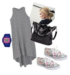 """Untitled #139"" by lindacorp on Polyvore featuring MANGO, Vans and Baby-G"