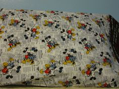Minnie & Mickey/Love is all you need cuff/pillowcase by FloridaFriends on Etsy