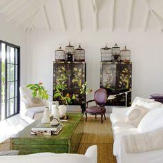 Different Angle On An Iconic Room, Victoria Hagan | Wohnzimmer ... Wohnzimmer Asiatisch Einrichten