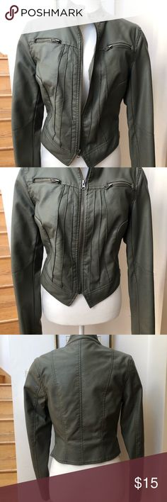 REVERSO Women's 100/% Leather Copper Bronze Biker Riding Jacket Various Sizes.