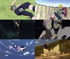 Haha  Poor Hinata.. nobody caught her.. Kushina and Sakura were much more lucky ❤️❤️