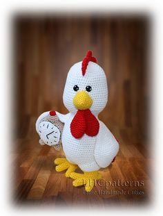 Ravelry: Crochet Rooster pattern by Kristine Kuluka