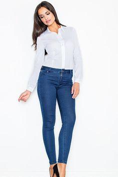 Short sleeves women's bodysuit, white