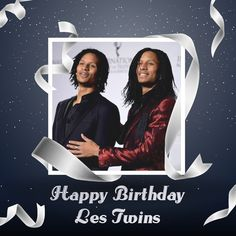 6️⃣️-1️⃣️2️⃣️-1️⃣️9️⃣️8️⃣️8️⃣️ Happy 29th Birthday Les Twins Love you so much ♥