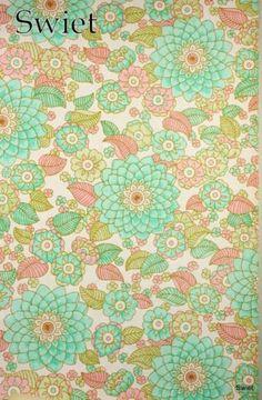Mooie kleuren  6604 Vintage retro barok behang behangpapier wallpaper Swiet