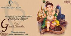Jindal Bullion Limited Wishes You Very #HappyGaneshChaturthi!! Ganpati Bappa Morya!!
