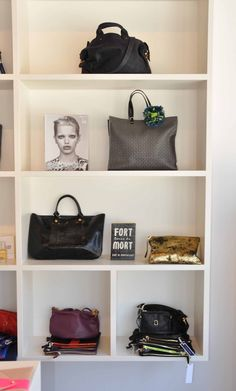 mags + bags. store decor. Clare Viver xx