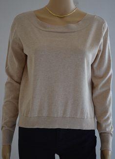 Pull Claudie Pierlot beige  coton, soie et cachemire