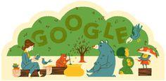Google Doodle di oggi Omaggio alla fantasia poetica di Suncana Skrinjaric