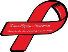 Custom Ribbon: Brain Injury Awareness / Periventricular Leukomalacia & Ischemic Stroke