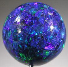 Best Christmas Lights, Christmas Ideas, Christmas Bulbs, Christmas Decorations, Holiday Decor, Opal Auctions, Mosaic, Beads, Products
