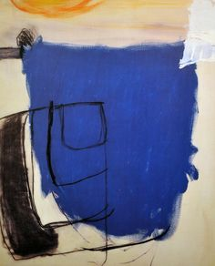 Roger Hilton was a unique voice in post-war British art. Often associated with the 'middle generation' of St Ives painters – Frost, Heron, Lanyon, Wynter – he spent much of his career in London, where his work was deeply influenced by European avante-garde movements such as tachisme and CoBrA.
