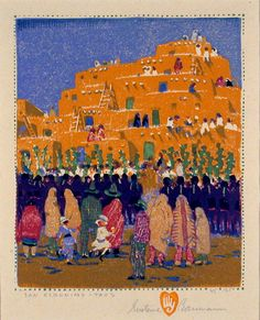 No Contxt • New Mexico Museum of Art - The Prints of Gustave...