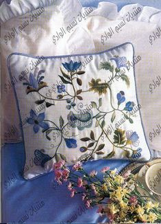 Crewel embroidery tutorials and patterns