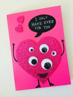 A funny and happy Valentine Card
