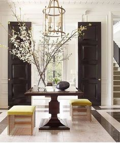 Join the ICAA for an evening with Thomas Pheasant. From his recent interiors at Blair House to a modern New York penthouse, Thomas Pheasant shares… read House Design, Foyer Design, House, Interior, Home, Cheap Home Decor, House Interior, Home Interior Design, Interior Design