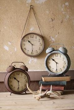 Love At West End.  Another shopper posted that she sets decorative clocks to the time her kids were born.  Cute idea, adding it to our study.