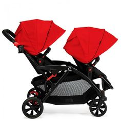 Contours Options Tandem Stroller Review and $100 Babies R Us Giveaway #ContoursBaby 8/17 - Newly Crunchy Mama Of 3