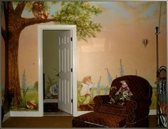 Peter Rabbit Nursery After Beatrix Potter I | Visionary Mural Company