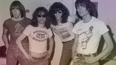 The Ramones. #70s #PunkRock