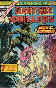 "Marvel Comics' Giant-Sized Chillers #3 reprinted ""The Warlock Tree by Gerry Conway, Jack Katz & Barry (Windsor-) Smith. It also featured artwork by Alfredo Alcala, Gene Colan, Jack Kirby, Tom Sutton with a dynamite Ed Hannigan & Bernie Wrightson cover! Good times my friend! http://beachbumcomics.blogspot.com/"