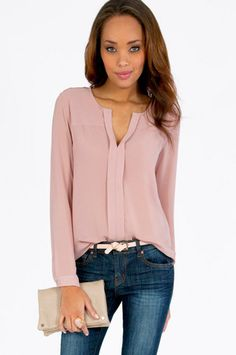 Amy Blouse $29 at www.tobi.com