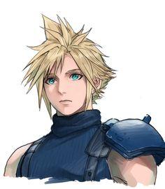 Twitter Final Fantasy Cloud, Final Fantasy Artwork, Final Fantasy Characters, Final Fantasy Vii Remake, Fantasy Series, Resident Evil, Final Fantasy Collection, Lion Of Judah, Beautiful Anime Girl