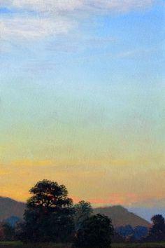 "Catskills Plein Air 1 - 4"" x 6"" by Mikel Wintermantel, Copley Master - Luminous Landscape Paintings"